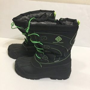 Dream Pairs Waterproof Kids Insulated Boots Size 4